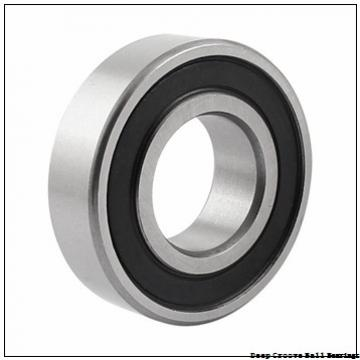 2 mm x 6 mm x 3 mm  ISO 619/2-2RS deep groove ball bearings