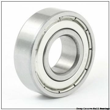 6 mm x 10 mm x 2,5 mm  NMB LF-1060 deep groove ball bearings