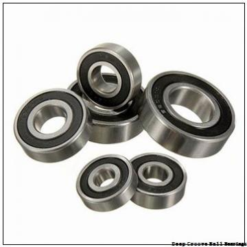 Toyana 61807 deep groove ball bearings