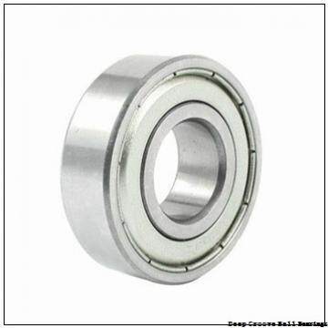 6,35 mm x 12,7 mm x 4,762 mm  NMB RI-814ZZ deep groove ball bearings