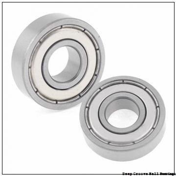 12 mm x 28 mm x 8 mm  KOYO 6001ZZ deep groove ball bearings