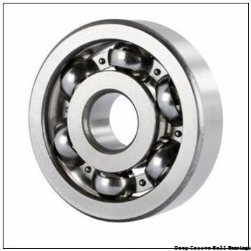 5 mm x 16 mm x 5 mm  NSK E 5 deep groove ball bearings