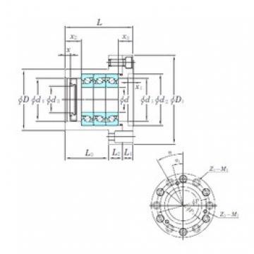 KOYO BSU3062BDF thrust ball bearings