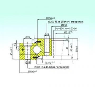 ISB ZB1.20.0310.200-2SPTN thrust ball bearings