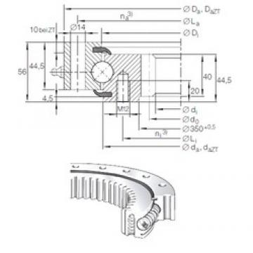 INA VSI 20 0414 N thrust ball bearings