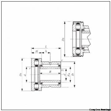 12 mm x 24 mm x 16 mm  NTN NKXR15T2Z+IR12×15×16 complex bearings
