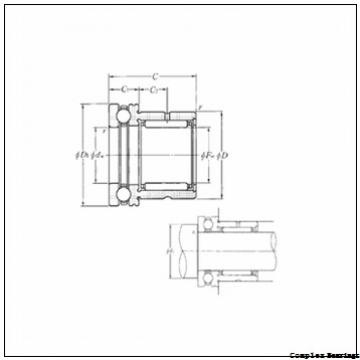 70 mm x 130 mm x 17,5 mm  INA ZARN70130-TV complex bearings