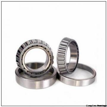 60 mm x 85 mm x 38 mm  INA NKIB5912 complex bearings