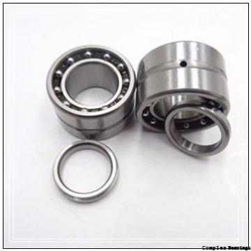 12 mm x 24 mm x 17.5 mm  NBS NKIB 5901 complex bearings