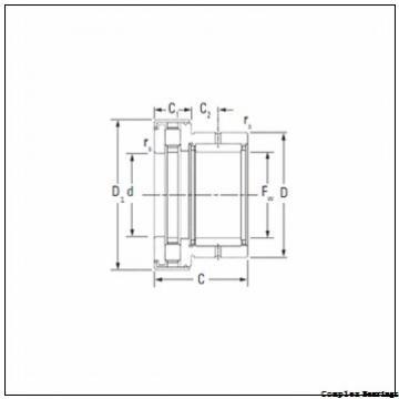 55 mm x 115 mm x 17,5 mm  NBS ZARN 55115 TN complex bearings