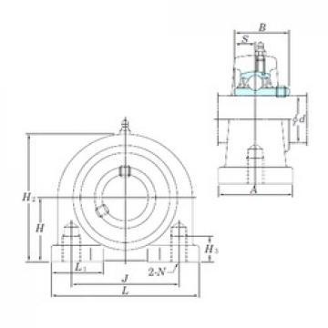 KOYO UCPA207-20 bearing units