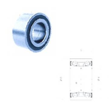 37 mm x 72,04 mm x 37 mm  PFI PW37720437CSM96 angular contact ball bearings