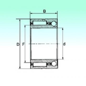 17 mm x 30 mm x 18 mm  NBS NKIA 5903 complex bearings