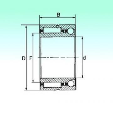 22 mm x 39 mm x 23 mm  NBS NKIA 59/22 complex bearings
