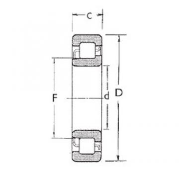 70 mm x 150 mm x 51 mm  FBJ NJ2314 cylindrical roller bearings