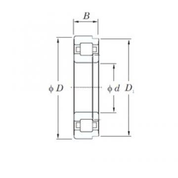 20 mm x 47 mm x 14 mm  KOYO NUP204R cylindrical roller bearings