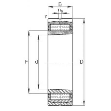 320 mm x 480 mm x 121 mm  FAG Z-565671.ZL-K-C5 cylindrical roller bearings
