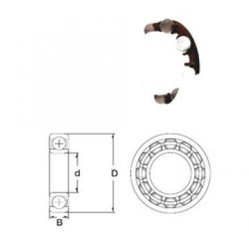 40 mm x 90 mm x 23 mm  ZEN P6308-SB deep groove ball bearings