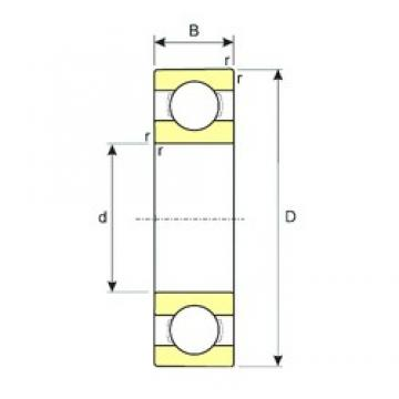 600 mm x 870 mm x 118 mm  ISB 60/600/HC deep groove ball bearings