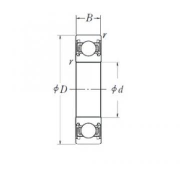 65 mm x 100 mm x 18 mm  SNR AB40360 deep groove ball bearings