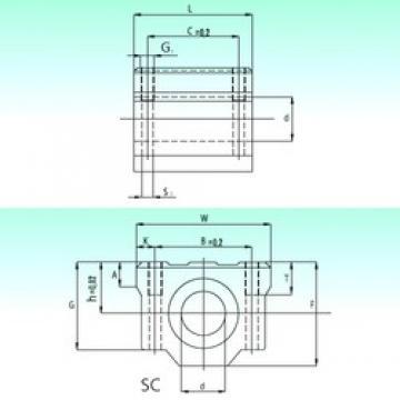 NBS SC 30 linear bearings