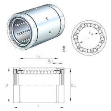 INA KBS12-PP linear bearings