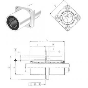 Samick LMEKM16UU linear bearings