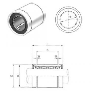 13 mm x 23 mm x 23 mm  Samick LM13UU linear bearings