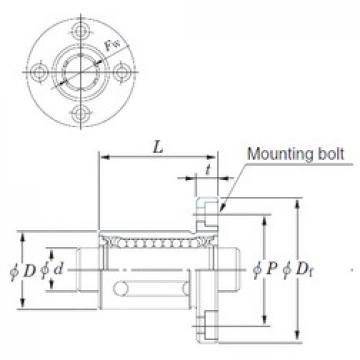 KOYO SDMF50 linear bearings