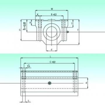 NBS SCW 25-UU linear bearings