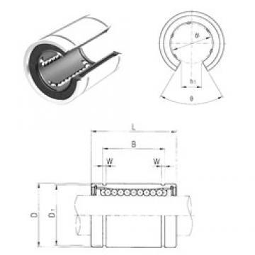 60 mm x 90 mm x 101,7 mm  Samick LME60UUOP linear bearings