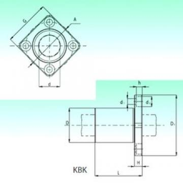 NBS KBK 08 linear bearings