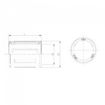 Samick CLB30UU linear bearings