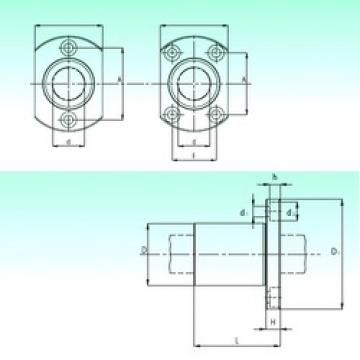 NBS KBH 30 linear bearings