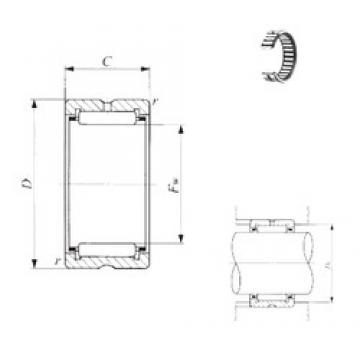 IKO BR 182620 needle roller bearings