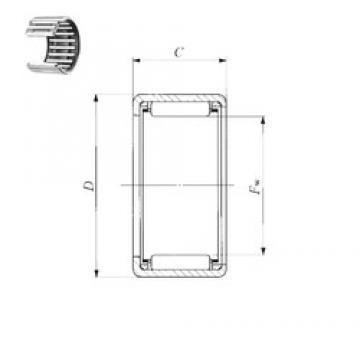 IKO BA 3620 Z needle roller bearings