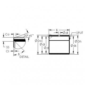 AST AST11 1412 plain bearings