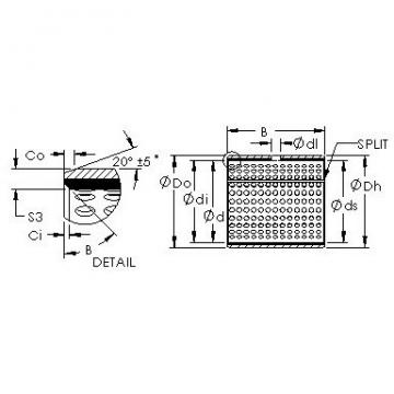 AST AST20 1015 plain bearings