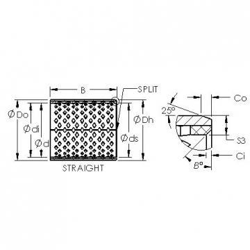 AST AST090 10590 plain bearings
