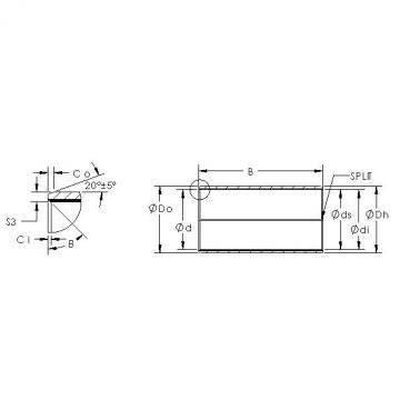 AST AST850SM 1015 plain bearings
