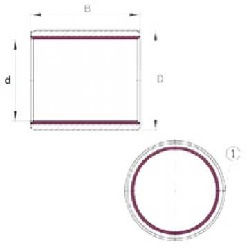 28 mm x 32 mm x 20 mm  INA EGB2820-E40 plain bearings