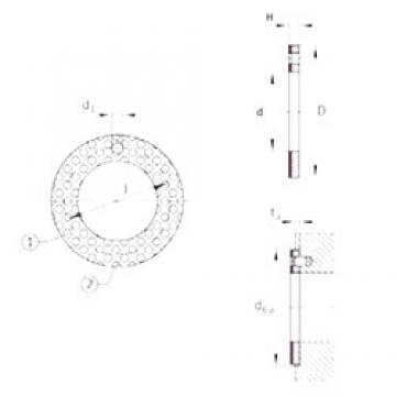 INA EGW38-E50 plain bearings