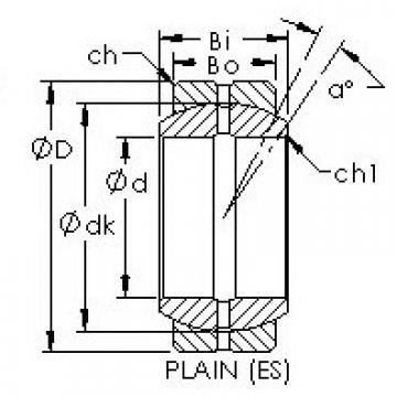 AST GEZ19ES plain bearings