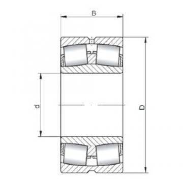 750 mm x 1000 mm x 185 mm  ISO 239/750W33 spherical roller bearings