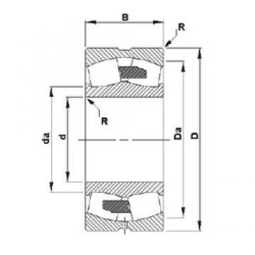 500 mm x 830 mm x 264 mm  Timken 231/500YMB spherical roller bearings
